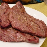 Cuban-style Steaks in Garlic-Lime Marinade