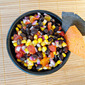October's Secret Recipe Club - Black Bean Corn Salsa