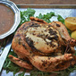 Roasted Chicken with Lemon Herb Pan Sauce