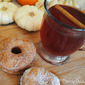 Doughnuts & Cider from The Harvest Table by Gooseberry Patch