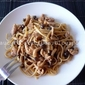 Bunashimeji & Black Pepper Chicken Pasta