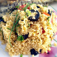 Couscous with olives