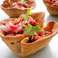 Baked Taco Bowls / Vegetarian Taco Bowls