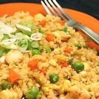 Quinoa with Garlic,Peas & Carrots