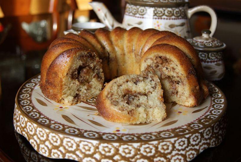 Gluten Free Sour Cream Coffee Cake Recipe By Caryn