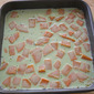 Matcha Mochi Cake with Sweet Potatoes/Yam