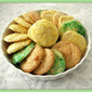 Colored Sugar Cookies