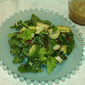 Green Salad with Hearts of Palm, Avocado and Tomato