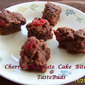 Cherry Chocolate Cake Bites