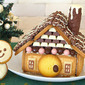 How to Make Cookie & Chocolate Decoration House - Video Recipe