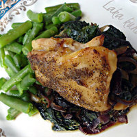 Chicken stuffed with spinach and cranberries