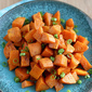 Roasted Sweet Potatoes Recipe with Chinese Five-Spice Powder