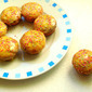 Eggless Orange, Peanut Butter & White Chocolate Cupcakes