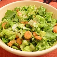 Chopped Salad with Sweet Basil Dressing