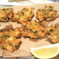 Tortillitas de Camarones (shrimp latkes?)