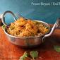 Prawn Biryani / Eral Biryani - Using Pressure Cooker