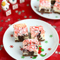 Holiday Chocolate & Peppermint Cheesecake Bar Recipe