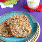 Chocolate & Dried Cherry Oatmeal Cookie Recipe & My First Video