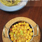 CHANNA WITH CAPSICUM CURRY - STEP BY STEP