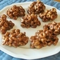 HONEY NUT CHEERIO TREATS WITH PEANUT BUTTER, CHOCOLATE AND MARSHMALLOW