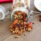 Cranberry Pomegranate Almond Granola with Orange Essence