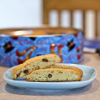 Rosemary Citrus Biscotti & Cashew Chipotle Beer Brittle: Review of The Daily Cookie
