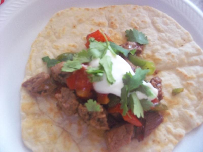 Leftover Roast Beef Tacos With Homemade Flour Tortillas Recipe By Myra Cookeatshare