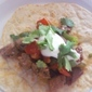 Leftover Roast Beef Tacos with Homemade Flour Tortillas