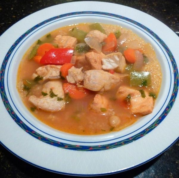 Moroccan fish stew recipe by john cookeatshare for Moroccan fish recipe