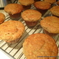 Jam filled Almond Banana big cap Gluten-free muffins
