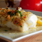 Baked Fresh Cod with Gremolata Breadcrumbs