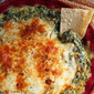 Holiday Drinks & Appetizers #SundaySupper - Hot Spinach Parmesan Dip