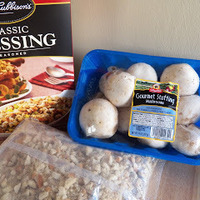 Stuffing Stuffed Mushrooms
