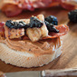The Elvis Peanut Butter and Fried Banana Sandwich with Bacon Recipe