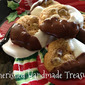 12 Days of Christmas Cookies--Black and White Dipped Chocolate Chip Cookies
