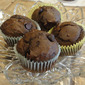 Chocolate Avocado Muffins