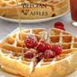 Crispy Yeasted Belgian Waffles