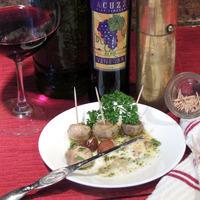 Italian Marinated Mushrooms With Pecan Smoked Garlic