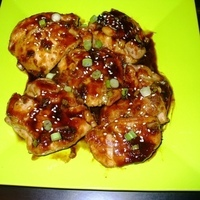 Asian Glazed Chicken Thighs