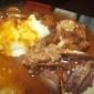 Sunday Supper Roast Beef with Onion Mushroom Gravy