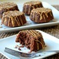 Banana Brownies with Peanut Butter Drizzle