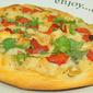 Grands Mini Tomatillo Cilantro Chicken Pizza