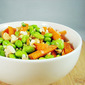 Edamame and Carrot Thai salad