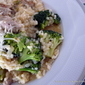 Risotto with Italian sausage and Broccoli
