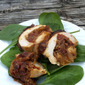 "Beautifully Inspired Lunch, ""My Chicken Roulade"""