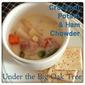 Crock Pot Potato & Ham Chowder