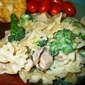 Creamy Broccoli, Chicken and Pasta