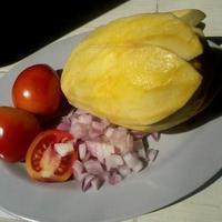 ENSALADANG MANGGA (Green Mango Salad)