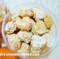 Making Snowy Peanut Butter Cookies