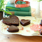 Chocolate Truffle Heart Cakes (Gluten-Free)